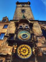 Old Town Hall Tower and Astronomical Clock HDR03 by abelamario