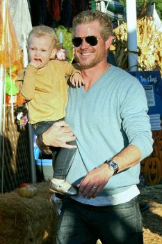 Eric Dane with daughter by DoubleXposure