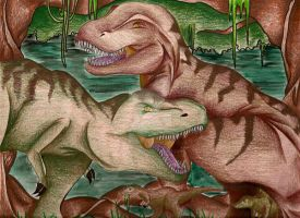 T-Rex Family - finished by RyouKenshin