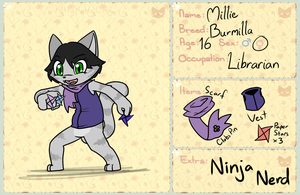 KKC App 2.0: Millie by VedtheFlameDevil