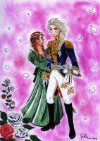 Roses of Arendelle by shishiyoukai
