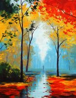 Autumn Walk by artsaus