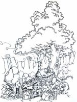 -Tree house- by Spasticgraphic