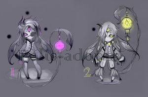 [CLOSED] adopts auction8 - Dead Light by Polis-adopts