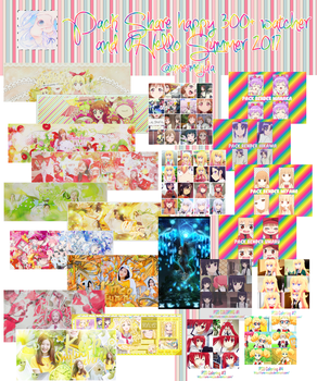 Pack Share Happy 300+W and Hello Summer by Ume-MeijDA
