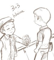 klaine 303 flower by Jackclamp