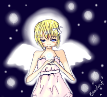Chrismas angel by immy724