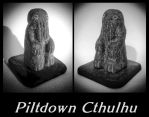 Piltdown Cthulhu by zombiequadrille