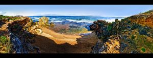 Warnambool Rocky Coast by WiDoWm4k3r