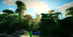 Minecraft Jungle by ChrisYoshiMan