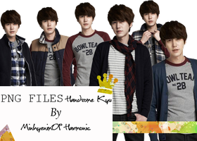 Handsome Kyu PNG FILES by minhye09
