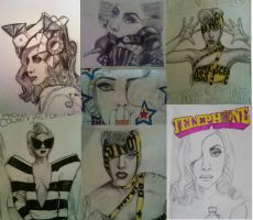 Telephone Drawings by 12KathyLees12