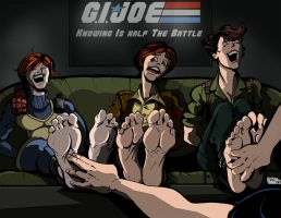 G.I. Joes Tickled by EyeDraw78