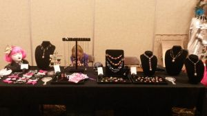 Dealer roon table, ConClave 2014 by Xiannah