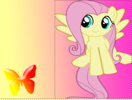 fluttershy wallpaper2 by tunouno