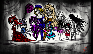 The Dark Woods Circus by SileceneAlethea