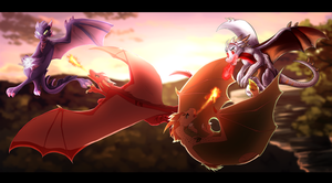 Battle in the Sky Collab by Nightrizer