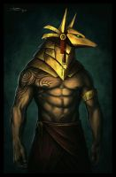 Anubis by Tyrus88
