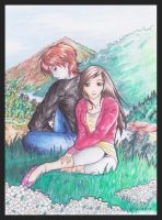 Edward and Bella by ravenwing136