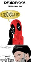 Deadpool Prank Calls Iran! by ProjectCornDog