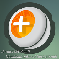 deviantART BIG Point Logo by atty12