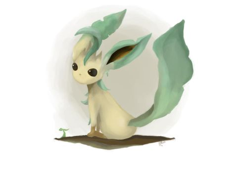 Leafeon by WaferArt01