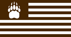 Flag of the Ursine States of America by CyberPhoenix001