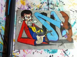 sketch card Lupin by SoVeryUnofficial