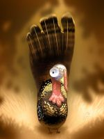 Foot Turkey by CookingPeach