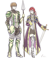 Free - Paladin and Grandmaster by FimbulvetrIce
