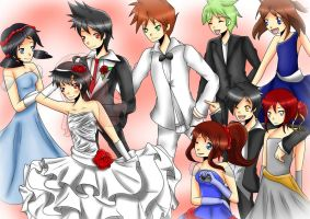 Pokemon Special Wedding... by kawaiipanda-aru