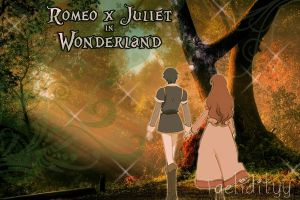 Romeo x Juliet in Wonderlandd by Taelidityy