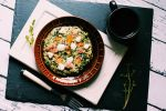 Spinach omelette by FiorOf