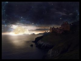 Castle at Night by vic-arts