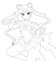 SailorMoon Lines by setsuna22