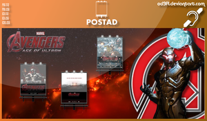 PostAd - 2015 - Avengers Age Of Ultron by od3f1