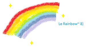 Le Rainbow by LilyKittyCat