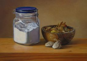 Still Life With Jar by andrianart