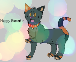 Happy Easter From Twix! by Thunder-Neko