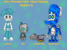 My Favorites nicktoons robot by sibred