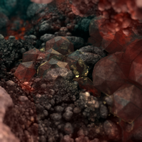 crystal - mandelbulb3D with parameter by matze2001