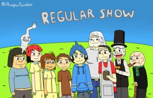 Regular Anime Show by Augustusalex