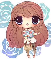 Rose Lace Fern by mochatchi