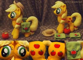 Applejack with saddle bags by Zorza-6