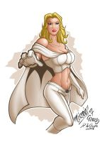 Emma Frost by rkw0021