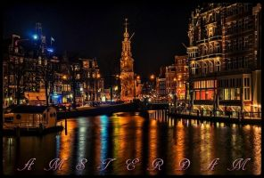 AMSTERDAM by scifilicious
