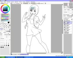 WIP of Yuni by Chocolate-x-Roses