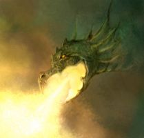 Fire Breathing Dragon by jezebel