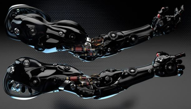 Robotic arms by Ociacia