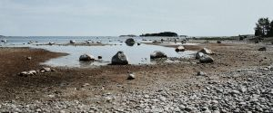 Stony shore by LadyGreeny